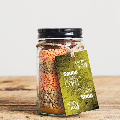 Soupe Lentilles Cari